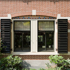 Windows by Friso Woudstra Architecten BNA B.V., Eclectic