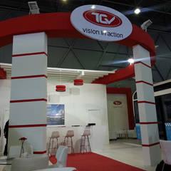 Derin İnşaat ve Mimarlık – TCV:  tarz Sergi Alanları