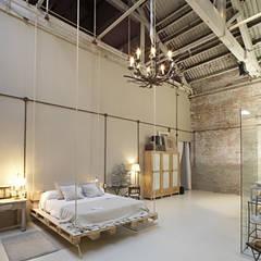 غرفة نوم تنفيذ BARASONA Diseño y Comunicacion