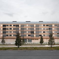 Edificio de Viviendas en Guindalera: Casas de estilo  de Ignacio Quemada Arquitectos
