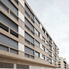 Edificio de Viviendas en Guindalera Casas modernas de Ignacio Quemada Arquitectos Moderno