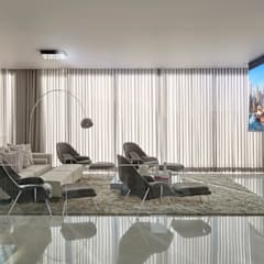 Media room by Estela Netto Arquitetura e Design, Classic