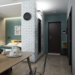 Corridor & hallway by Solo Design Studio,