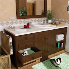 Ultra-modern and 'never seen before' art only by home makers:  Bathroom by home makers interior designers & decorators pvt. ltd.