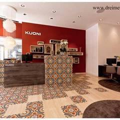 Marokkaanse cementtegels van Articima artikelnr. 501:  Kantoor- & winkelruimten door Articima