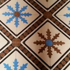 Marokkaanse cementtegels van Articima artikelnr. 400:  Badkamer door Articima