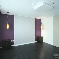 고가구의 적절한 배치, 오리엔탈 느낌의 32py 인테리어: 홍예디자인의  침실,한옥