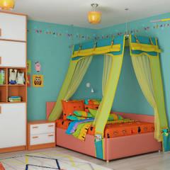 Детская комната: Детские комнаты в . Автор – Елена Марченко