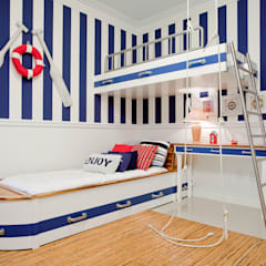 Nursery/kid's room by Karla Silva Designer de Interiores