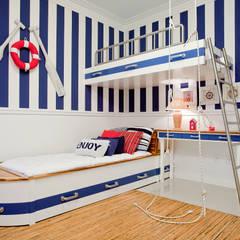 غرفة الاطفال تنفيذ Karla Silva Designer de Interiores,