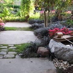 Zentuin:  Tuin door Bouwhuis en Tuin hoveniersbedrijf