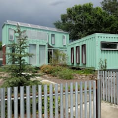 Container home:  Houses by Ecosa Institute