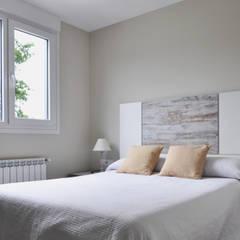 Casa prefabricada Cube  75 m2 - Dormitorio: Dormitorios de estilo  de Casas Cube