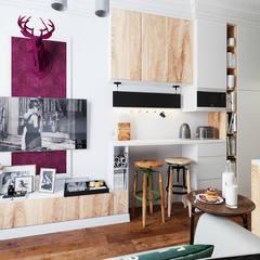 Ruang Keluarga oleh Vashantsev Nik, Eklektik