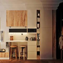 آشپزخانه توسطVashantsev Nik, اکلکتیک (ادغامی)