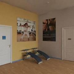 Palestra Restyling 3D: Spazi commerciali in stile  di INFO C.E.D.