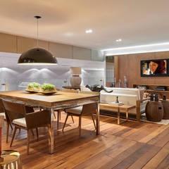 Decora Líder Brasília - Varanda Gourmet: Salas de jantar  por Lider Interiores