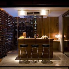 قبو النبيذ تنفيذ Isabela Canaan Arquitetos e Associados