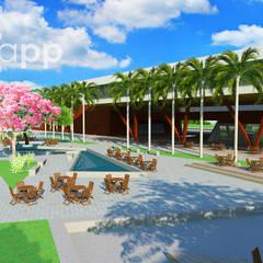 Escuelas de estilo  por Estúdio Criativo Arquitetura e Interiores
