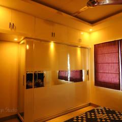 Mr Siddhart Shandilya:  Bedroom by Ambiance Design Studio,