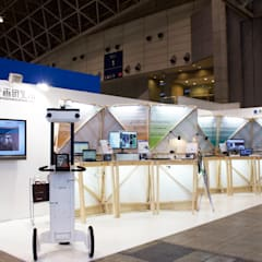 ceatec: Design of Engineering and Fabrication / wipが手掛けた会議・展示施設です。