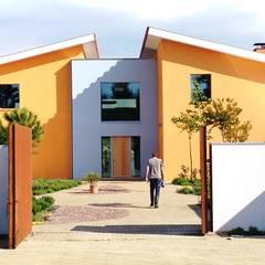 Landgoed Kuinderbos: mediterrane Huizen door K4 architecten bna