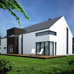 Projekty domów - House 20: styl , w kategorii Domy zaprojektowany przez Majchrzak Pracownia Projektowa,