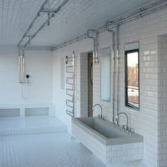 Badezimmer:  Badezimmer von boehning_zalenga  koopX architekten