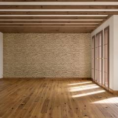 Country Landhaus: landhausstil Wohnzimmer von makasa