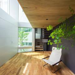 黒川の家: Nobuyoshi Hayashiが手掛けたサンルームです。