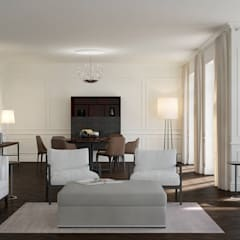 Wohnwelt Classic:  Wohnzimmer von makasa