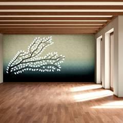 Salas / recibidores de estilo  por makasa,