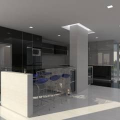 Remodelación Casa La Viña.: Cocinas de estilo  por Marianny Velasquez arquitecto