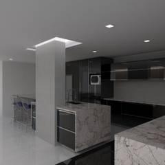 Remodelación Casa La Viña.: Cocinas de estilo  por Marianny Velasquez arquitecto,