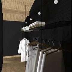 Maison E.M.: Dressing de style  par Ophélie Dohy architecte d'intérieur