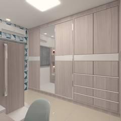 Dormitório Meninos: Quarto infantil  por Karoline Gesser Leal Interiores,Industrial