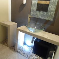 オリジナルスタイルの お風呂 の bello diseño! オリジナル
