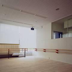 スタジオ: 有限会社加々美明建築設計室が手掛けたホームジムです。