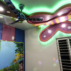 Funky false ceiling designs for kids bedroom:  Kinderzimmer von homify