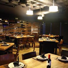 مطاعم تنفيذ Narda Davila arquitectura,