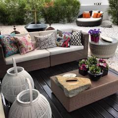 Moradia Estoril/Estoril Residence: Jardins  por 3L, Arquitectura e Remodelação de Interiores, Lda