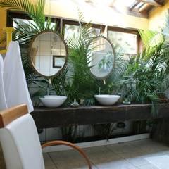 Baños de estilo  por Daniela Zuffo Arquitetura e Interiores, Rústico