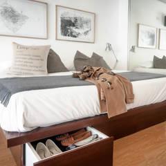 Depto FL: Dormitorios de estilo  por MeMo arquitectas,Moderno