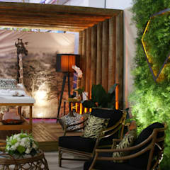 eclectische Spa door Daniela Zuffo Arquitetura e Interiores