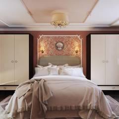 КРАСКИ ЖИЗНИ: Спальни в . Автор – Дизайн студия Алёны Чекалиной