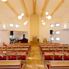 土山教会: ジョイ建築設計事務所が手掛けたイベント会場です。