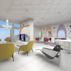 nihle iç mimarlık – karmen güzellik salonu:  tarz Dükkânlar