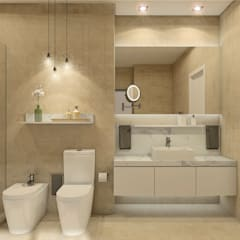 حمام تنفيذ MRS - Interior Design