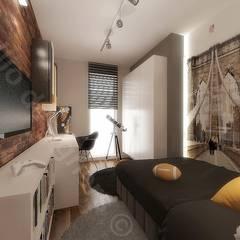 Pokoje dzieci: styl , w kategorii Pokój multimedialny zaprojektowany przez Intellio designers