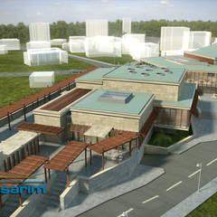 Adres Tasarım – Şile Belediyesi Kültür Merkezi Projesi: asyatik tarz tarz Evler